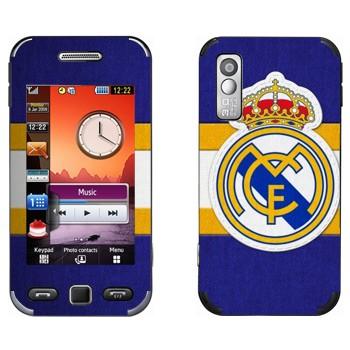 Виниловая наклейка «Реал Мадрид» на телефон Samsung S5230