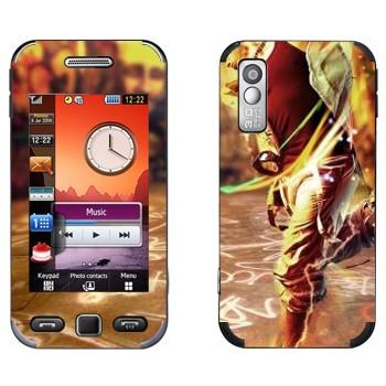 Виниловая наклейка «Современные танцы» на телефон Samsung S5230