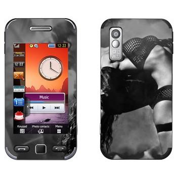 Виниловая наклейка «Стрип-танцы» на телефон Samsung S5230