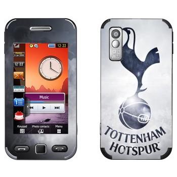 Виниловая наклейка «Тоттенхэм Хотспур эмблема» на телефон Samsung S5230