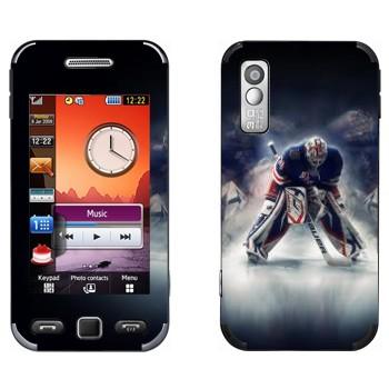 Виниловая наклейка «Вратарь НХЛ» на телефон Samsung S5230