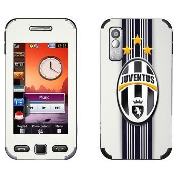 Виниловая наклейка «Ювентус эмблема на белом фоне» на телефон Samsung S5230