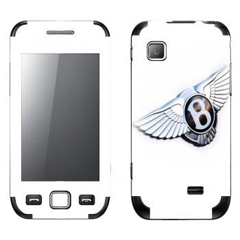 Виниловая наклейка «Bentley эмблема» на телефон Samsung Wave 525