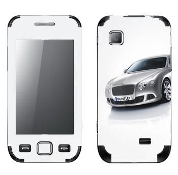 Виниловая наклейка «Bentley» на телефон Samsung Wave 525