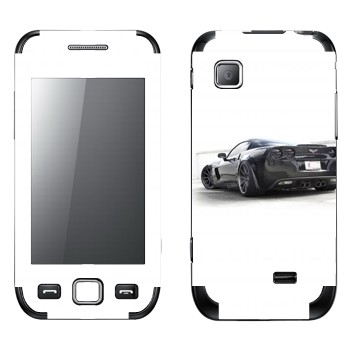Виниловая наклейка «Chevrolet Corvette» на телефон Samsung Wave 525