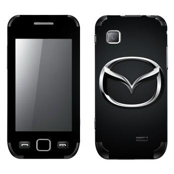 Виниловая наклейка «Mazda значок» на телефон Samsung Wave 525