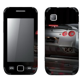 Виниловая наклейка «Nissan GTR-35» на телефон Samsung Wave 525