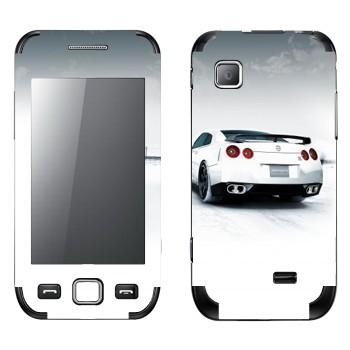Виниловая наклейка «Nissan GTR» на телефон Samsung Wave 525