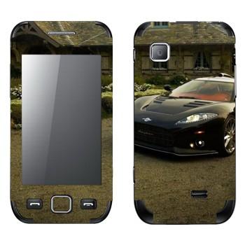 Виниловая наклейка «Spynar - суперкар» на телефон Samsung Wave 525