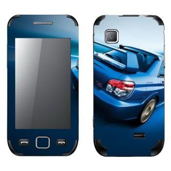 Виниловая наклейка «Subaru Impreza WRX» на телефон Samsung Wave 525