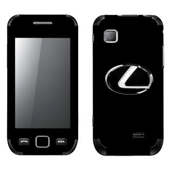 Виниловая наклейка «Логотип Лексус» на телефон Samsung Wave 525