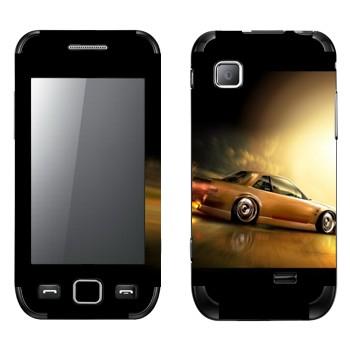 Виниловая наклейка «Ниссан Silvia S13» на телефон Samsung Wave 525