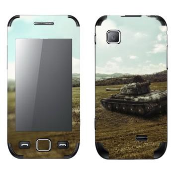 Виниловая наклейка «Танк T-44» на телефон Samsung Wave 525